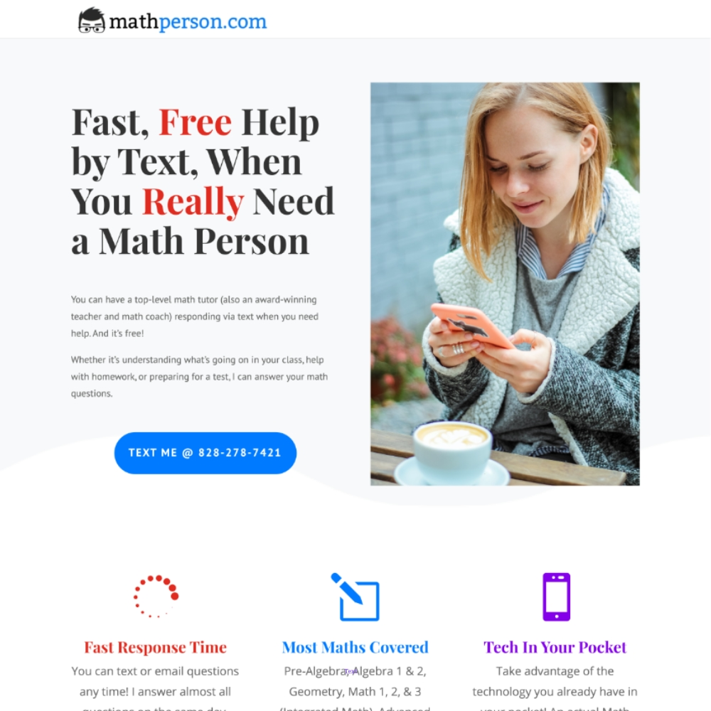 MathPerson Website